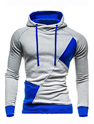 Men's Spring Style Fashion Slim Fit Hoodies New Patchwork Color Hoodies Sweatshirts ,Men Casua Hoodies Outerwear Coat
