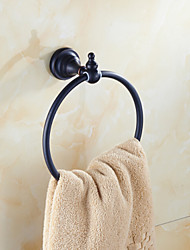 Bathroom Accessories Antique Brass Material Towel Rings