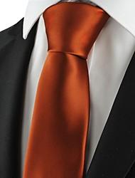 Cravatta-Tinta unitaDIPoliestere-Marrone
