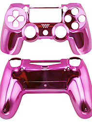 le boîtier du contrôleur de remplacement pour ps4 cas PS4 contrôleur de placage (rose / rouge / violet)