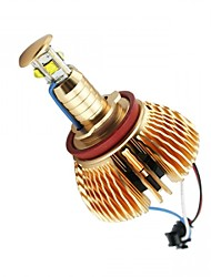 2PCS 40W Golden Model CREE LED Angel Eye for B-MW E60/E61/E63/E64/E70/E71/E82/E87/E90/E92/E93/M3 White Color