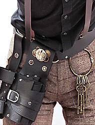 Bag Gothic Lolita / Punk Lolita Lolita Vintage Inspired Black Lolita Accessories Bag Solid For Women Leather