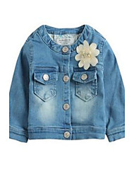 Jeans Girl Primavera Cotone Blu