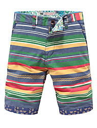In summer five men's casual pants shorts pants 5 summer beach pants thin slim pants tide