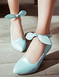 Women's Shoes Glitter / Leatherette Stiletto Heel Heels / Pointed Toe Heels Office & Career / Dress / Pink / White
