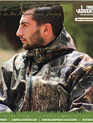 Tree Camouflage Winter Coat Suit