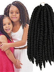 X-TRESS Collection Crochet Mambo Twist Braid 2X Heat Resistance Kanekalon Synthetic Hair Extensions