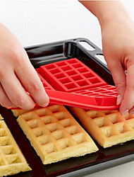 The Oven With Diy Cake Mould 4 Square Silicone Waffles Muffin Mould Cake Mould Baking Tools