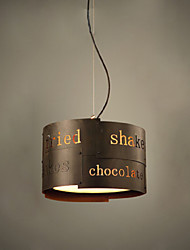 LOFT Modern Fashion Nordic Art Creative Fabric Pendant Lamp Bar Cafe Lamp Restaurant Pendant Light Dia 35cm