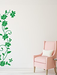Romance / De moda / Florales Pegatinas de pared Calcomanías de Aviones para Pared,PVC S:17*55cm/ M:26*84cm/ L:42*133cm