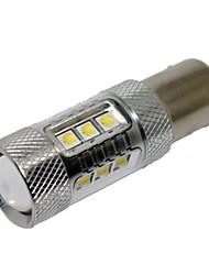 hohe Qualität 12v 1156 5050 15SMD 7.5W Auto-LED-Signallampe Auto Bremse LED-Lampe Auto-LED-Lampe weiße Farbe drehen