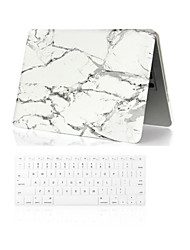 "2 in 1  Marble Full Body  Case +Keyboard Cover for Macbook Air 11"" /13"""