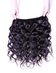 "4Pcs Lot 8""-30"" Peruvian Virgin Hair Body Wave Natural Black Human Hair Weave Bundles"