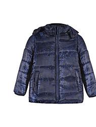 Mädchen Jacke & Mantel Polyester Frühling / Herbst Blau