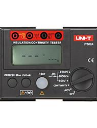 UNI-T ut502a черный для сопротивления изоляции мегомметром