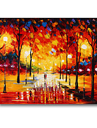50 * 60cm handgemalte Gemälde-Landschaft