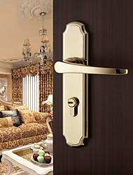 Dorlink? Contemporary Zinc Alloy Golden Keyed Entry Door Lock