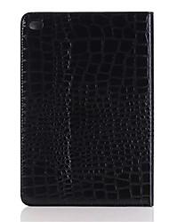 mode crocodile mince étui en cuir de haute qualité pour ipad mini-4 Smart Cover avec étui de motif alligator stand