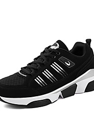 Running Shoes Men's Casual Shoes Running/Casual/Outdoor Tulle Leather Fashion Sneakers Runing Shoes Black/Bule/Red 38-47