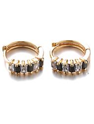 Sjeweler Girls Gold Plating Hoop Earrings