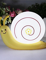 Snail Lamp of the Head of a Bed USB Emergency LED Night Light for Kids Room Home Decoration(Random Color)