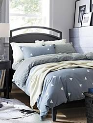 Stripe Cotton 3 Piece Duvet Cover Sets