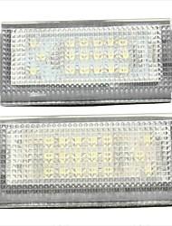 2pcs bm-w Mini Cooper S R50 LED-Kennzeichenleuchte 12v, 14w führte mit speziellen führte decorder