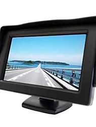 4.3 Inch Sunshade TFT-LCD Car Rearview Monitor With Stand Reverse Backup High Quality