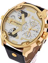 Men's Watches Shiweibao Brands Watch Business Waterproof Leather Quartz Wristwatch Montres Homme Gift Idea Wrist Watch Cool Watch Unique Watch