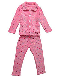 Girl's Clothing Set,Cotton Spring / Fall Pink
