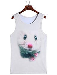 3d vest de ratten vest cosplay kostuums cosplay geeky kleding voor man / vrouw