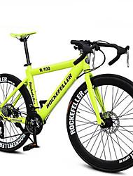 21 velocidades 700c ciclismo Rockefeller ™ freio de disco duplo andava de bicicleta 70 raios pneu furado