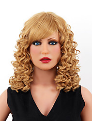 Grace Style High Quality Capless Short Wavy Mono Top Human Hair Wigs Eight Colors to Choose