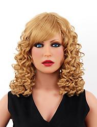 estilo graça de alta qualidade sem tampa curto ondulado mono cabelo humano top perucas oito cores para escolher
