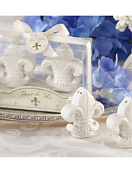 Ceramic Paris Love Salt & Pepper Shakers Baby Birthday Party Favors
