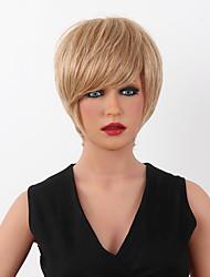 peluca de pelo peluca de cabello humano superior de la venta corta de 15 colores a elegir