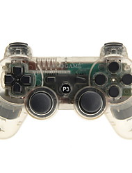 GoiGame Wireless DoubleShock 3 Controller for PS3 Transparent Free Shipping