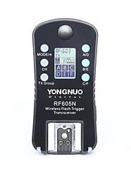 disparador de flash sem fios yongnuo®& obturador rf605n rf-605n para Nikon