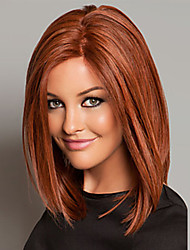 Long Length Hair European Weave Light Brown Color Hair Wig