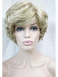 высокий класс короткие вьющиеся волосы синтетический парик новые тенденции прическа на 2015 г. многие цвета для вас выбирают