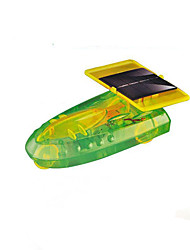 Solar Powered Gadgets  Car DIY Toy For Boy Children Educational ABS Yellow