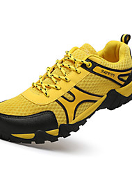 Men's Shoes Athletic Tulle Fashion Sneakers Yellow / Green / Gray / Orange