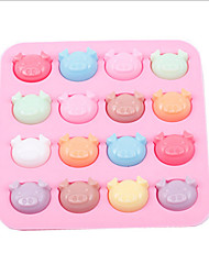 Silicone Pig Baking Cake Chocolate Soap Candy Jelly Ice Mold Mould Pan
