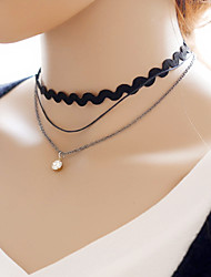 Simple Multi-storey Choker Necklaces Daily / Casual 1pc