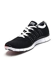 Nike Free 5.0 Flyknit Zapatos de Correr Mujer Resistencia al desgaste Negro / Morado / Melocotón Jogging Acordonado Tejido