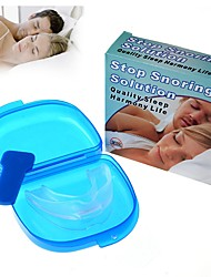 Stop Snoring Solution Anti Snore Soft Silicone Mouthpiece Good High Quanlity Night Sleeping Apnea Guard Bruxism Tray
