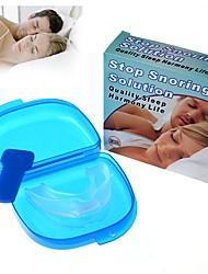 dejar de roncar solución anti ronquido suave boquilla de silicona buena noche para dormir apnea bandeja de guardia de bruxismo alto