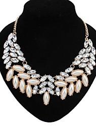 Gargantilla(Aleación / Diamante Sintético / Piedra Preciosa y Cristal / Perla de ImitaciónVintage / Bonito / Fiesta / Trabajo / Casual