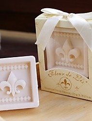 Paris Love Fleur-de-Lis Soap Wedding Gifts, Baby Shower Favors BETER-XZ008