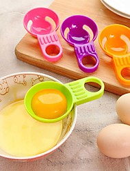 Mini Egg White Yolk Separator Practical Egg Vitellus White Divider Kitchen Utensils Cooking Random Color